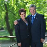 Dr. Vlasta Krmelj in dr. Milan Zver